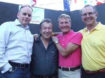 Claude, Gilles, Tino et Marcel, tout un quatuor!
