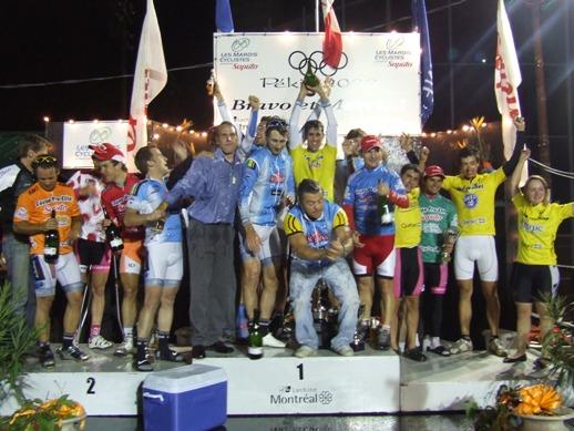 Les champions 2008 des Mardis cyclistes, toutes catégories