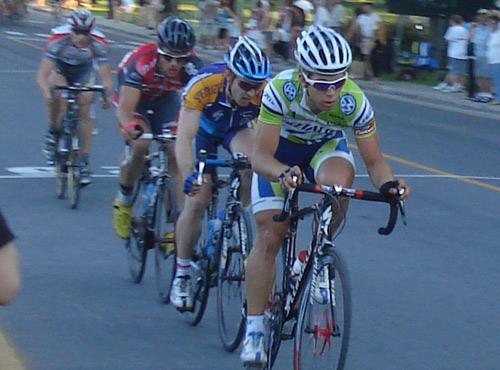 Champion canadien sur route, Guillaume Boivin tentera de réaliser un autre podium au critérium lachinois. (Photos: Philippe Boisvert)
