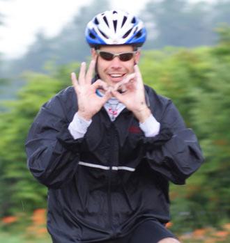 Plus de 20 employés de Xerox accompagneront à un moment ou un autre Mel sur son parcours au Québec avec leurs vélos.