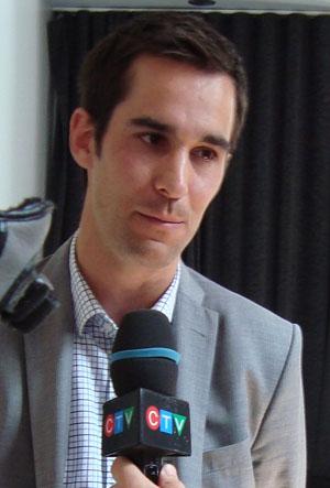 Jean-François Laroche, champion défendant.