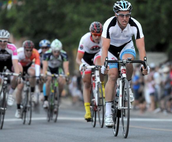 Martin Gilbert a terminé 2e (Robert Wilson - Mardis Cyclistes)