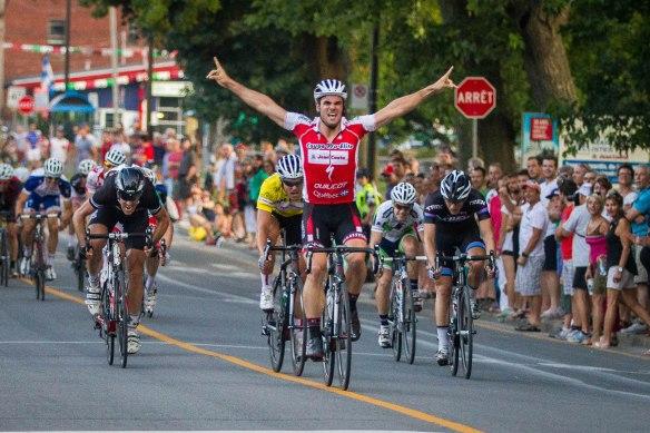Simon Lambert-Lemay l'a emporté au terme de la 6e tranche des Mardis cyclistes de Lachine Jean Coutu