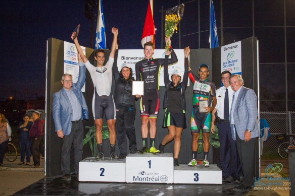 Mardis cyclistes 11 aout 2015 podium