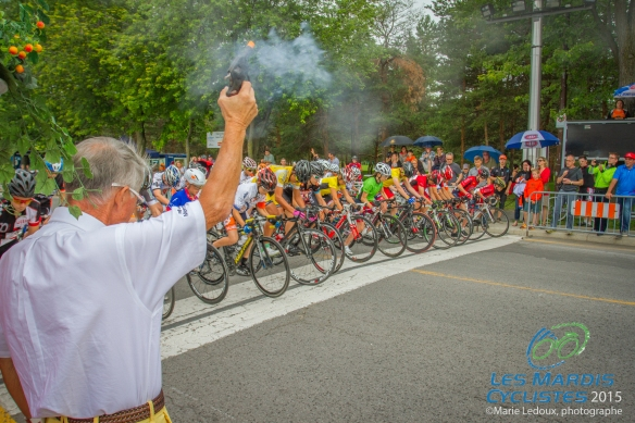 Mardis cyclistes Tino donne signal